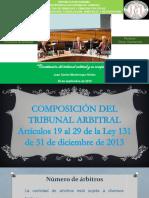 Constitución del tribunal arbitral y su competencia.pptx