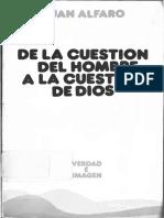 ALFARO, J., De la cuestión del hombre a la cuestión de Dios, 1998.pdf