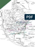 North America Ley Lines