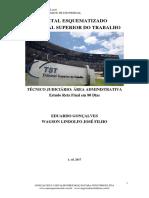 TÉCNICO DO TST - EDITAL ESQUEMATIZADO RETA FINAL 1. ED. 2017 - jaque35@gmail