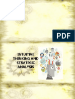 INTUITIVE THINKING AND STRATEGIC ANALYSIS.ppt