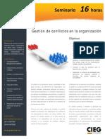 Gestión de conflictos en la organización