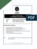 CDB2043 - REACTION ENGINEERING