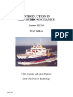 Introduction to Ship Hydro Mechanics Pinkster 2002)