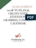 21 Ideas Content Calendar