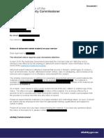 eSafety Commissioner AVM notice