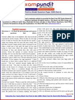 RBI Assistant Prelims Model Question Paper PDF (Set-4)
