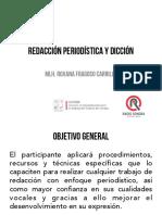 Redacción Periodística y dicción