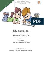 1° CALIGRAFIA