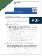 MANUAL_ DaMPeR MODULE 4 STANDARD OPERATING PROCEDURES rev2019 0115