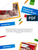 Cooperative-Learning-Models