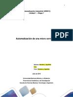 Actividad 1 Automatización Industrial