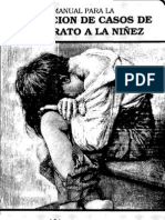 d256 Manual Para La Detencion de Casos de Maltrato a La Niez