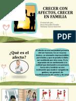 CRECER CON AFECTOS, CRECER EN FAMILIA