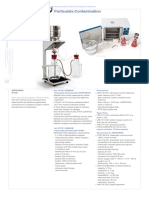 Particulate contamination instrument