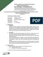 RPP Tugas dan Jabatan Bidang Administrasi