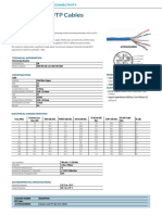Schneider Cable Actassi - Category 6 U UTP Solid Cable  Datasheet ME
