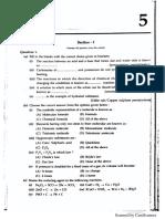 Chem Model Paper 5