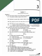 Chem Model Paper 3