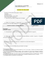 Anexa nr. 2 - Referat de evaluare