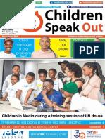 Children Speakout Newspaper December 2019