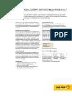 postfach factsheet