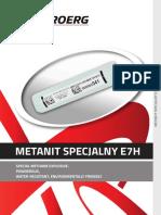 Metanit Specjalny e7h