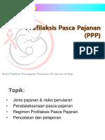Modul 08a - Profilaksis Pasca Pajanan