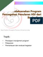Modul 10 - Melaksanakan Program PMTCT