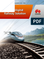 Huawei Digital Railway Solution Brochure