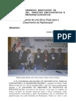 relatório congresso papiloscopia