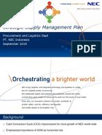 Strategic Supply Management Plan