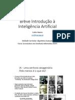 1 - T Slides ALGAV Introdução à IA