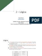 T Slides ALGAV Logica