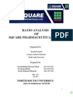 RATIO ANALYSIS FiN 254