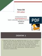 CSS zadaci