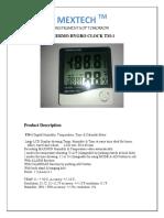 mextech-brand-thermo-hygro-clock-model-no-tm-1