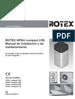HPSU compact v5 Manual de instalación 0116