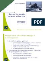 Demain, les énergies de la mer en Bretagne