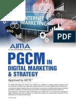 _AICTE Digital Marketing PGCM Flyer