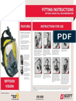 Protector RFF1000 FF Respirator Fit Poster ANZ PA Logo