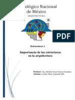 Importancia de las estructuras en la arquitectura