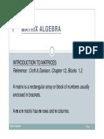 Chapter 1_Matrix Algebra
