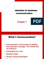 Introduction of Business communication (1)