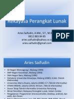 Aries Saifudin - RPL - 07. SDLC