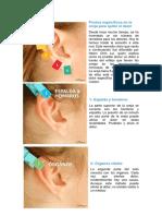 puntos de un oido