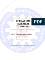 2171901_Operation Research
