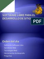 Software Libre Para El Desarrollo de Sitios Web