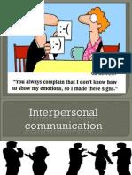 Interpersonal Communication Final