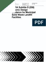 [Guidance] RCRA Subtitle D Sesimic Design of MSWL.pdf